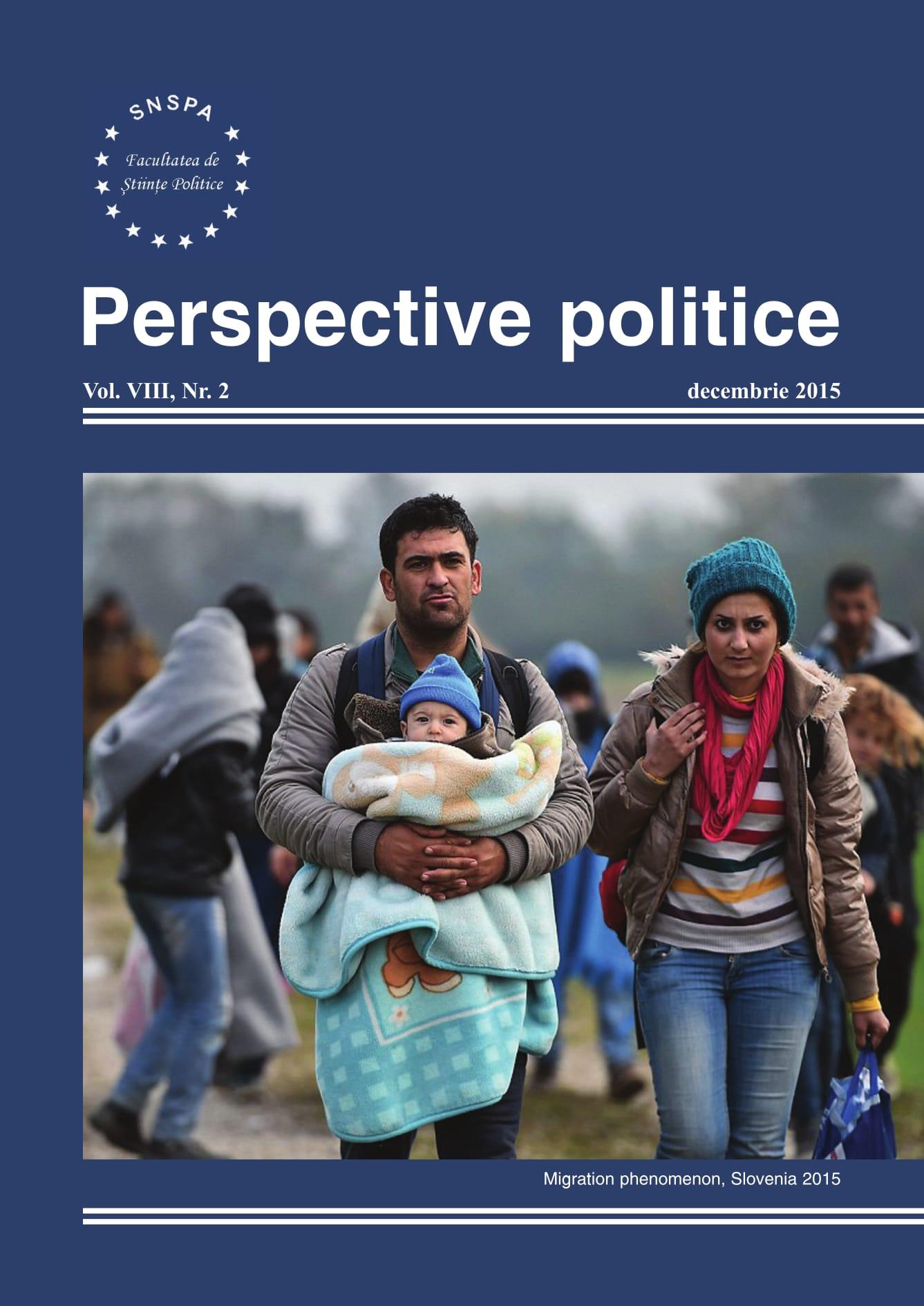 View Vol. 8 No. 2 (2015): Perspective Politice