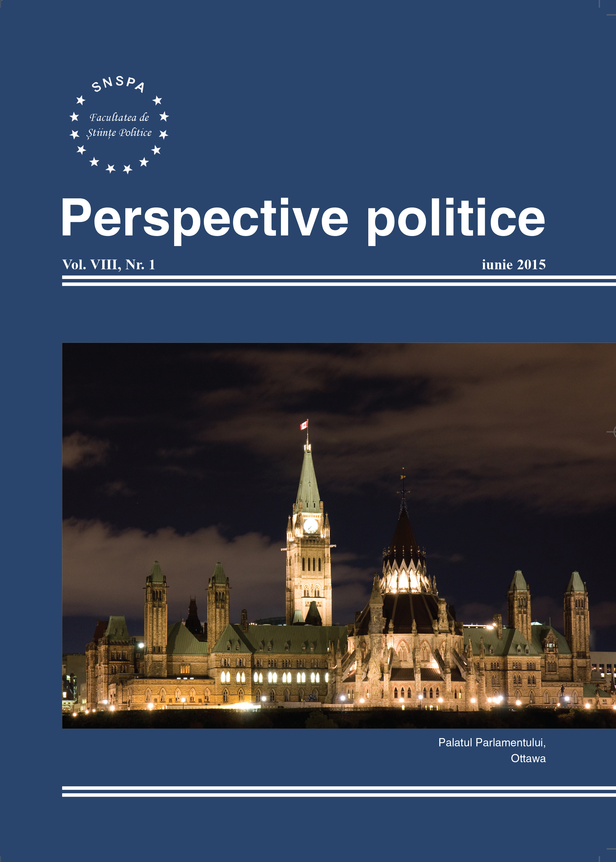 View Vol. 8 No. 1 (2015): Perspective Politice