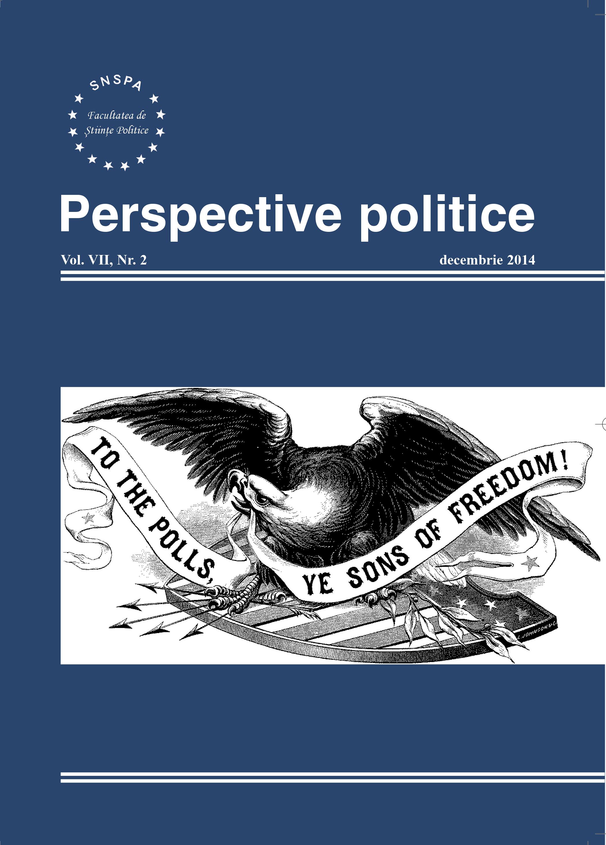View Vol. 7 No. 2 (2014): Perspective Politice
