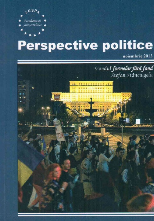 View Vol. 6 No. 1 (2013): Perspective Politice
