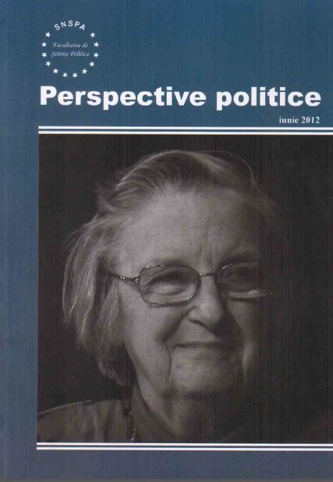 View Vol. 5 No. 1 (2012): Perspective Politice