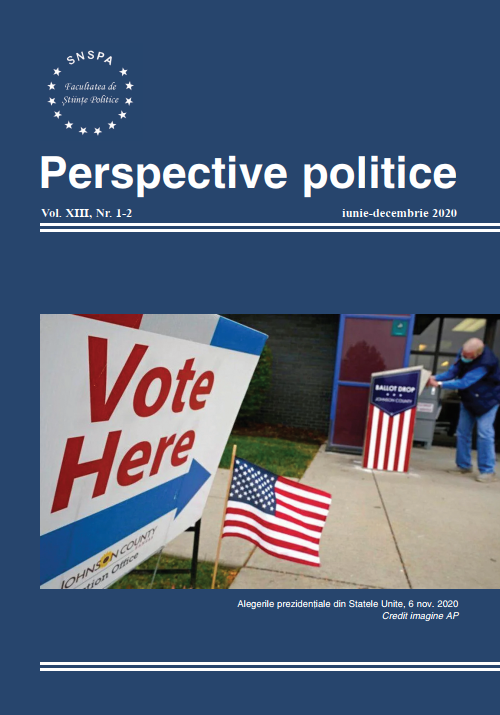 View Vol. 12 No. 1-2 (2020): Perspective Politice