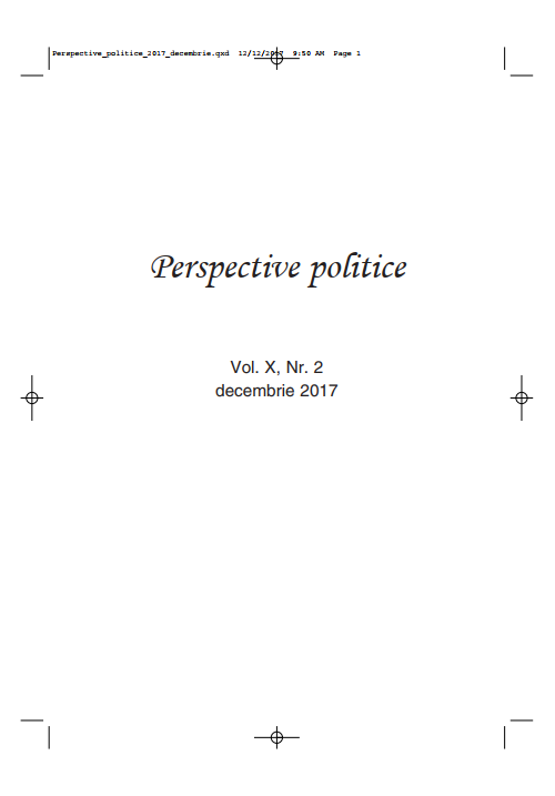 View Vol. 10 No. 2 (2017): Perspective Politice