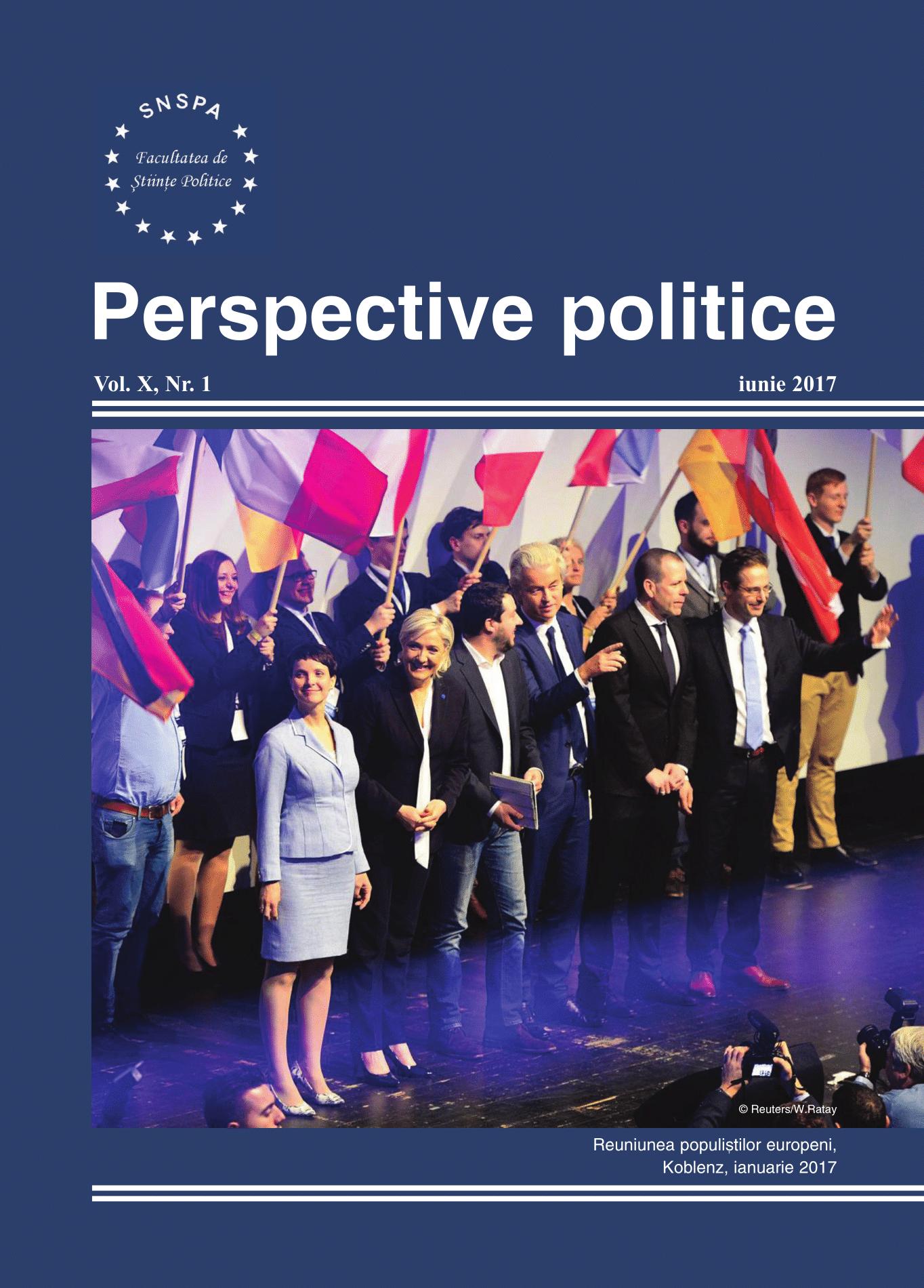 View Vol. 10 No. 1 (2017): Perspective Politice